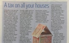 HomeOwners Alliance Poll mentioned in Sunday Times regarding proposed taxes