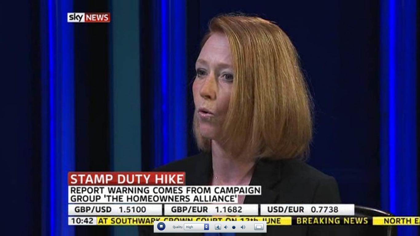 Stamp duty Sky News