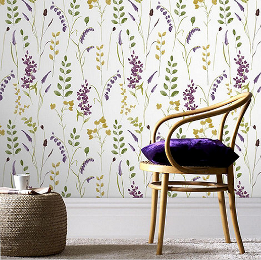Graham and Brown Bluebell wallpaper