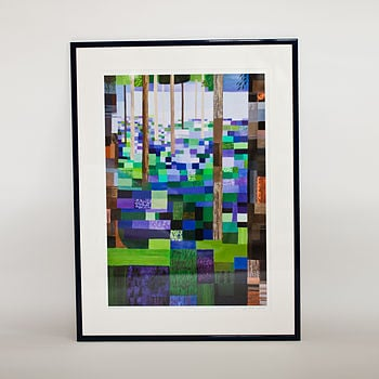 Emma Hardicker Bluebell Wood Print