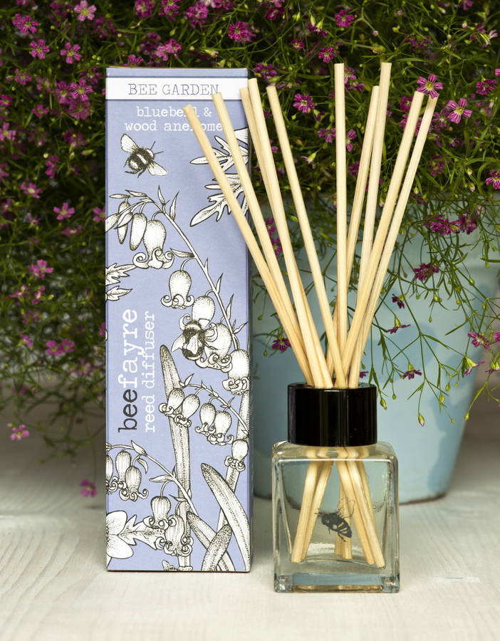 Bluebell Reed Diffuser by Beefayre
