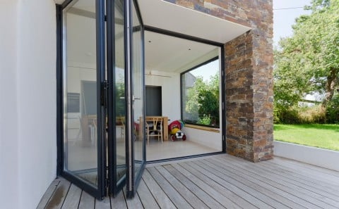 Bi-Folding doors space and light