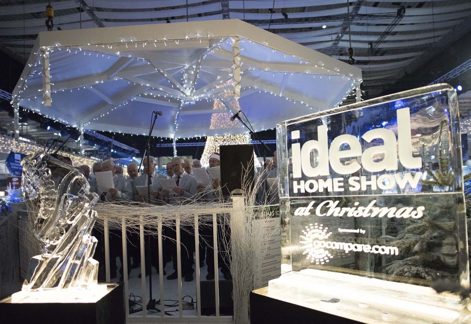 of course the ideal home show at christmas isn t just for shopping