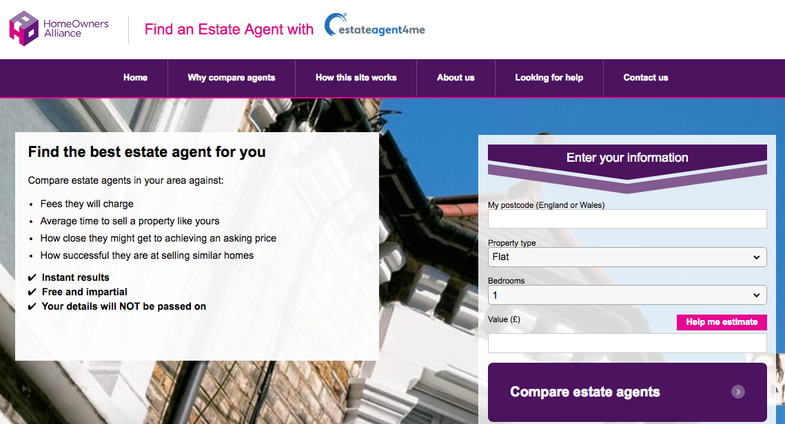 Choose an estate agent