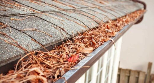 Image of a Gutter