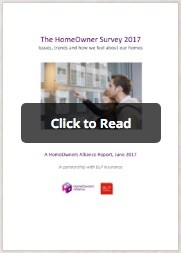 Online Publication of our Homeowners Survey for 2017