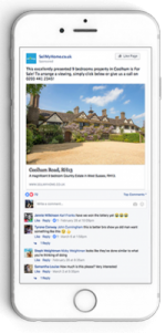 advertise property on facebook