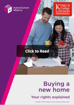 Click to read our online report on your rights when buying a new home