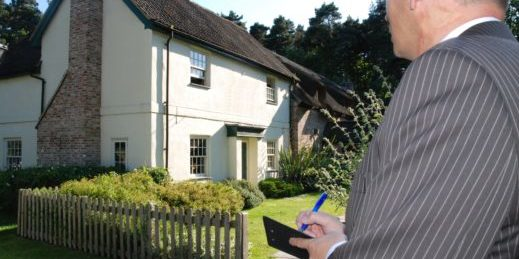 Getting a property survey done by a surveyor