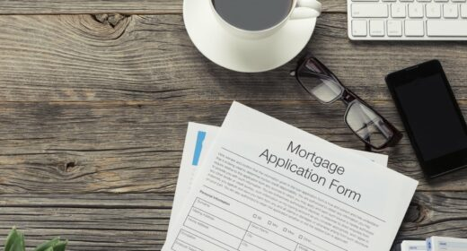 New build home mortgage application
