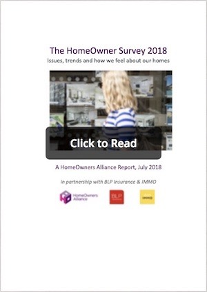 Online Publication of our Homeowners Survey for 2018