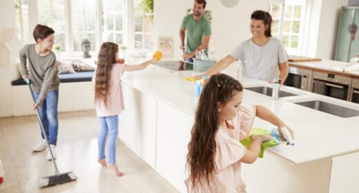 getting your home ready for sale, spring clean