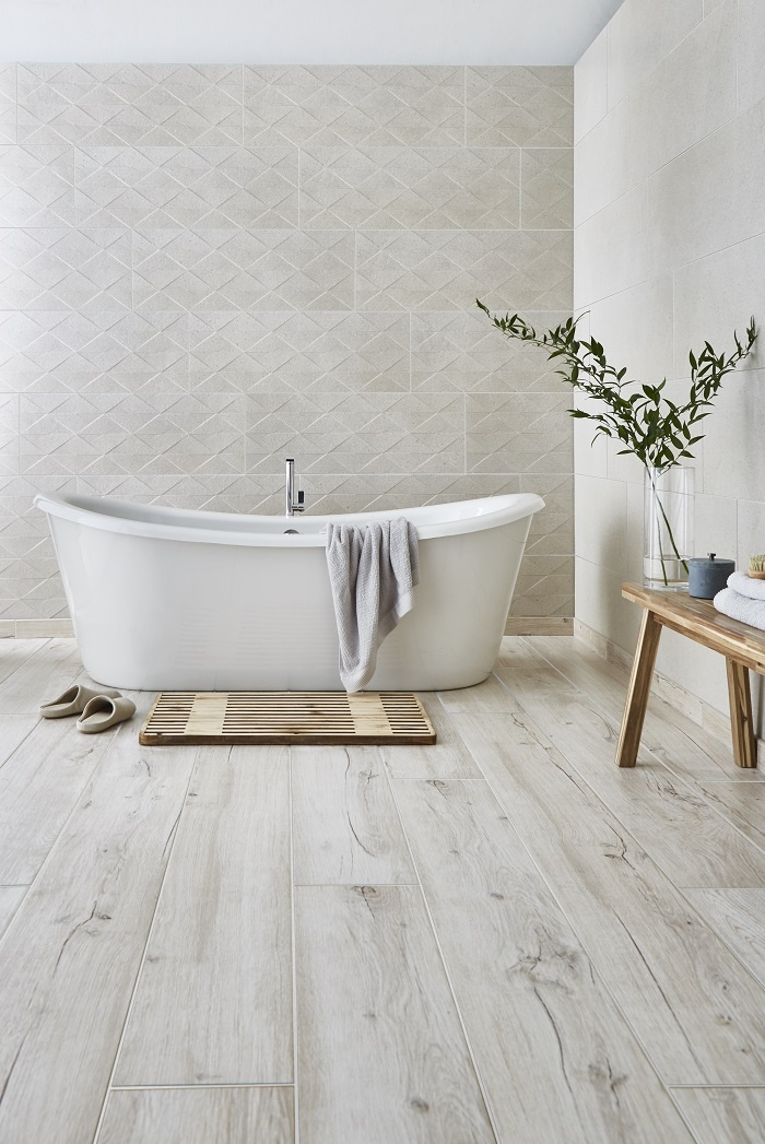 bathroom ideas, bathroom tiles, spa style bathroom