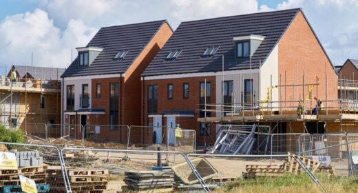 In the news, Persimmon homes, new build