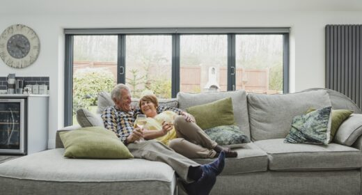 over 65s paying off mortgage