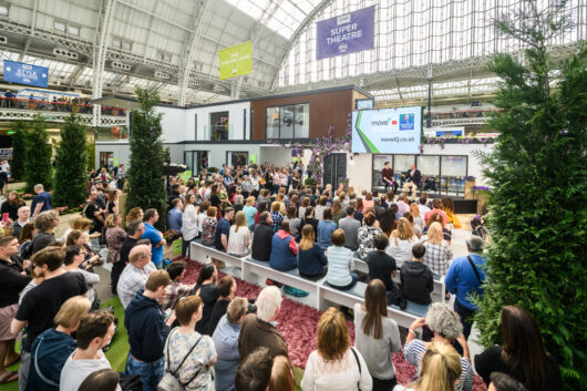 Live talks at the Ideal Home Show