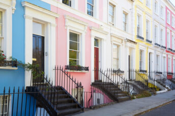 Homes on colourful streets worth thousands more